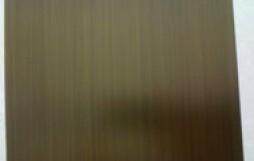 拉丝青古铜不锈钢板