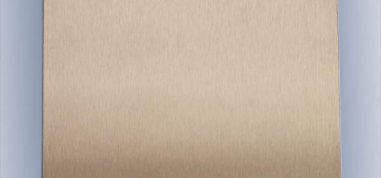 玫瑰金发纹不锈钢板